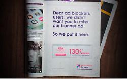 A creative way to circumvent adblocking software?