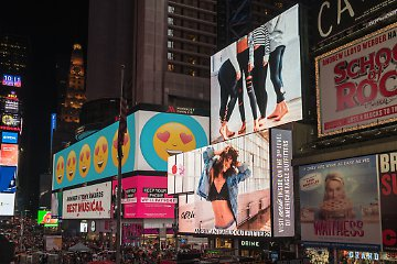 Wave 2 solutions create ads for billboards and inhouse displays too